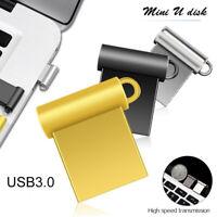 32GB USB 3.0 Flash Drive Memory Pen Stick Mini Metal Storage U Disk for PC
