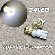 Wedge T10 LED bulb 24 SMD GEL COVER Parking Lamp w5w 168 194 2825 for Toyota L