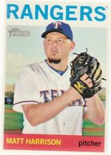 Carte collezionabili baseball singoli Texas Rangers