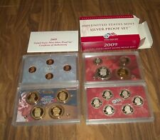 2009s UNITED STATES SILVER PROOF SET COMPLETE