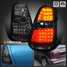 2005-2006 Mini Cooper S Smoke Lens LED Turn Signal Brake Lamp Tail Lights
