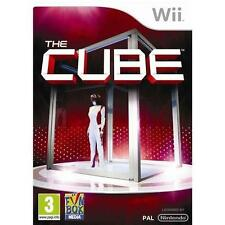 THE CUBE (Wii) & U=Voice+Body+30 Games From TV Show-Tense Family Fun!=NEAR MINT✔