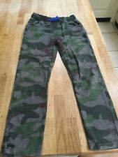 Mini Boden Boys Camouflage Trousers Age 8 Years