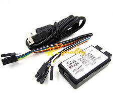 USB saleae Logic Analyzer Device Set USB Cable 24MHz 8CH 24MHz MCU ARM FPGA