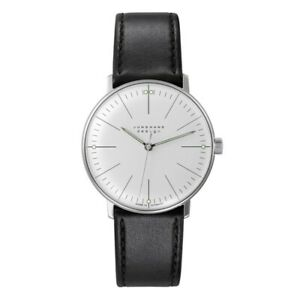 Junghans Unisex Max Bill 027/3700.04 Hand-Winding Watch - 027/3700.00 NEW