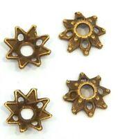 50 Perlenkappen 8mm Antik Bronze Spacer Schmuck Zwischenperlen BEST M98