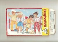 Butterick Sewing Pattern 3790 Busybodies Todders Jacket Pants Shorts Size 1-3