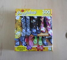 "Colorful ""RUBBER BOOTS"" 300 Piece Jigsaw Puzzle BN"
