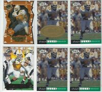 (10)ct SHAUN ELLIS NFL FOOTBALL CARD LOT NEW YORK JETS/TENNESSEE VOLUNTEERS
