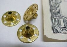Lot 175 Solid Brass Snap Parts, Buttons, Spacers Sewing Jewelry Decorations New