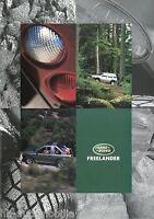 3022LR Land Rover Freelander Prospekt 1998 deutsche Ausgabe brochure broschyr