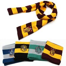 Harry Potter Scarfs Slytherin Hufflepuff Ravenclaw Cosplay Gryffindor Scarf 1PC