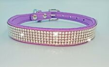Rhinestone bling collar for pets, dogs, cats, gorgeous sparkling accessory