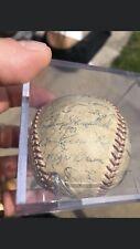 mickey mantle, Yogi Berra Baseball Autographed Team Baseball