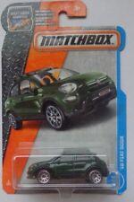 Matchbox 2017 MBX ADVENTURE CITY '16 Fiat 500 X 3/125