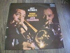 BOBBY HACKETT & JACK TEAGARDEN - JAZZ ULTIMATE LP CAPITOL UK 1958 EX