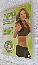 JILLIAN MICHAELS-BANISH FAT BOOST METABOLISM - DVD, R-4, NEW, FREE POST AUS-WIDE