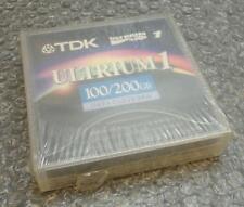 TDK Datos Cartucho de cinta Ultrium LTO 1 100 / 200gb d2404-100 - Nuevo y