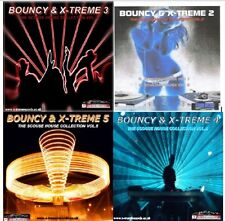 BOUNCY & X-TREME (VOL.2,3,4 & 5) SCOUSE HOUSE MIX CD'S