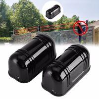 Home Security Sensor Alarm Dual Beam IR Infrared Detector Module Burglar 100m