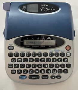 Brother P-Touch PT-1750 Electronic Label Maker Thermal Printer with Manual