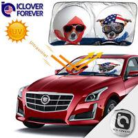 Jumbo Front SUV Sun Shade for Foldable Car Auto Windshield Visor Sunshade Cover
