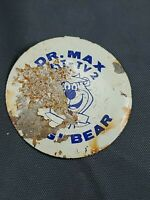 "Vintage Dr. Max Mombo Yogi Bear 1.5"" Badge"
