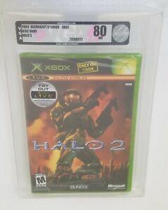 Halo 2 VGA 80 (Xbox, 2004) Rare Sealed WATA 9.2
