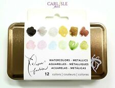 Paper Fashion Katie Rodgers WaterColor Metallic Set of 12