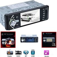 Car MP5 Player With Free Rear Camera , SWC/AUX/MP3 Bluetooth FM Vedio Radio New