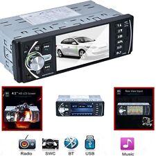 AUTO Lettore MP5 con fotocamera posteriore libero, SWC/AUX/MP3 Bluetooth Radio FM Video NUOVO