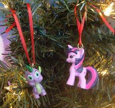 My Little Pony Christmas Tree Ornament Twilight Sparkle And Spike Custom Made