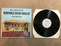 "BILL SYKES 89 KEY GAVIOLI FAIR ORGAN VOLUME ONE Vinyl Record 12"" Abbotsley 1980"
