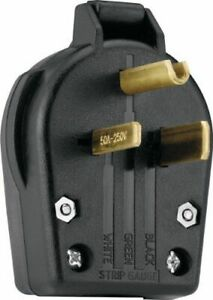 WELDER PLUG 50AMP MALE NEMA 6-50P 6-30 Genuine CooperAll New Items free shipping