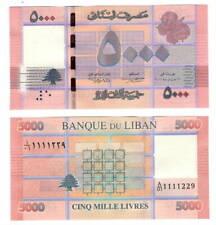 UNC LEBANON 5000 Livres (2012) P-91