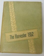 1952 PAMPA HIGH SCHOOL YEARBOOK, PAMPA, TX. / THE HARVESTER .... LQQK