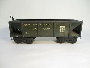 Ives 194 Penna Coal Coke Hopper Olive Standard Gauge X4620