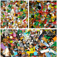 LEGO BULK LOT OF 100 NEW MINIFIGURE ACCESSORIES TOOLS WEAPONS MINIFIG PARTS NEW