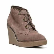 Fergie 'Ophelia' Suede Lace Wedge Ankle Boots Bootie 8.5 NEW! $119.95