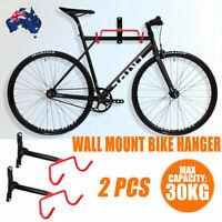Wall Mount Bicycle Rack Bike Hanging Holder Hook MTB Foldable Storage Display