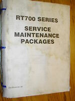 Grove RT700 CRANE SERVICE SHOP REPAIR MANUAL HYDRAULIC ROUGH TERRAIN MAINTENANCE