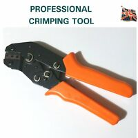 AMP TYCO SUPERSEAL RATCHET CRIMPING TOOL UNINSULATED CRIMP TERMINALS DELPHI Ora