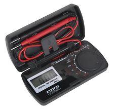 Sealey Mm18 Bolsillo Multímetro Corriente Dc Ac Dc Voltaje Resistencia electrican