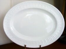 "Wedgwood NANTUCKET Basket Oval Serving Platter Dish White 14"" George Davis  NEW!"