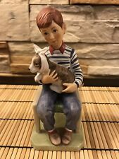"Norman Rockwell Figurine ""At The Vets� Dated March 29, 1952 Mint Condition"