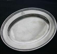Vintage HOTEL SOMERSET Silver Plate Sm Platter 1922