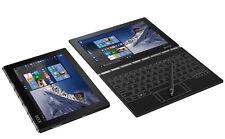 """NEW SEALED Lenovo WINDOWS 10 Yoga Book 64GB Z8550 10.1"""" IPS 2in1 Tablet Black"""