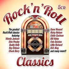 CD Rock'n'Roll Clásicos de Varios Artistas 5CDs