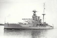 rp14767 - Royal Navy Warship - HMS Barham , built 1915 lost 1941 - photo 6x4