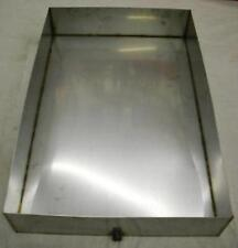 Stainless Steel Maple Syrup Sap Boiling Pan 24 x 36 x 6